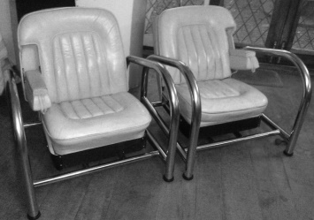 Two 1970s Vintage Rolls Royce Chairs