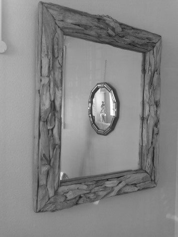 Mirror Made From Driftwood